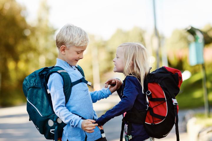 Barn som har en trygg oppvekst