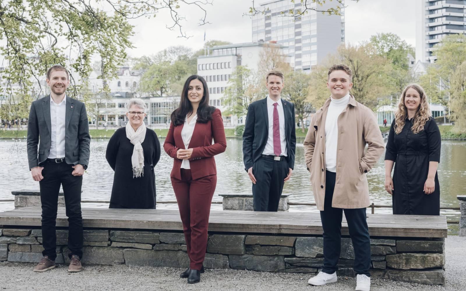 Valg 2021, topp 6 kandidatene