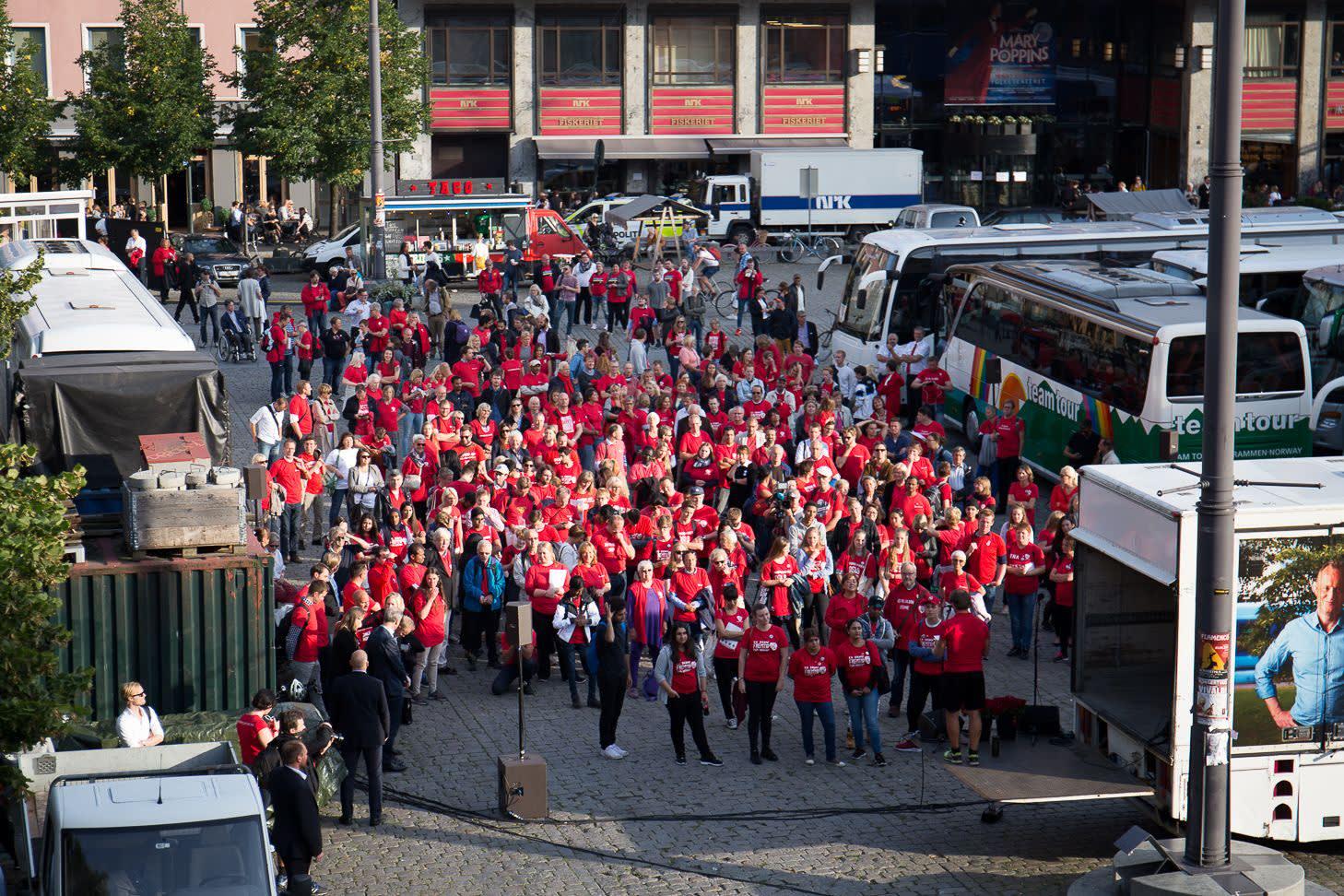 Arbeiderpartiets valgkamp