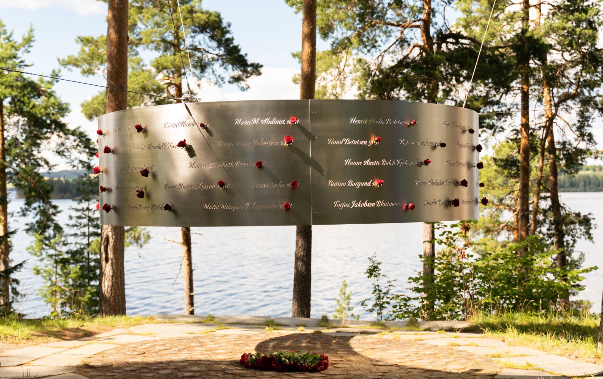 Minnesmerket på Utøya