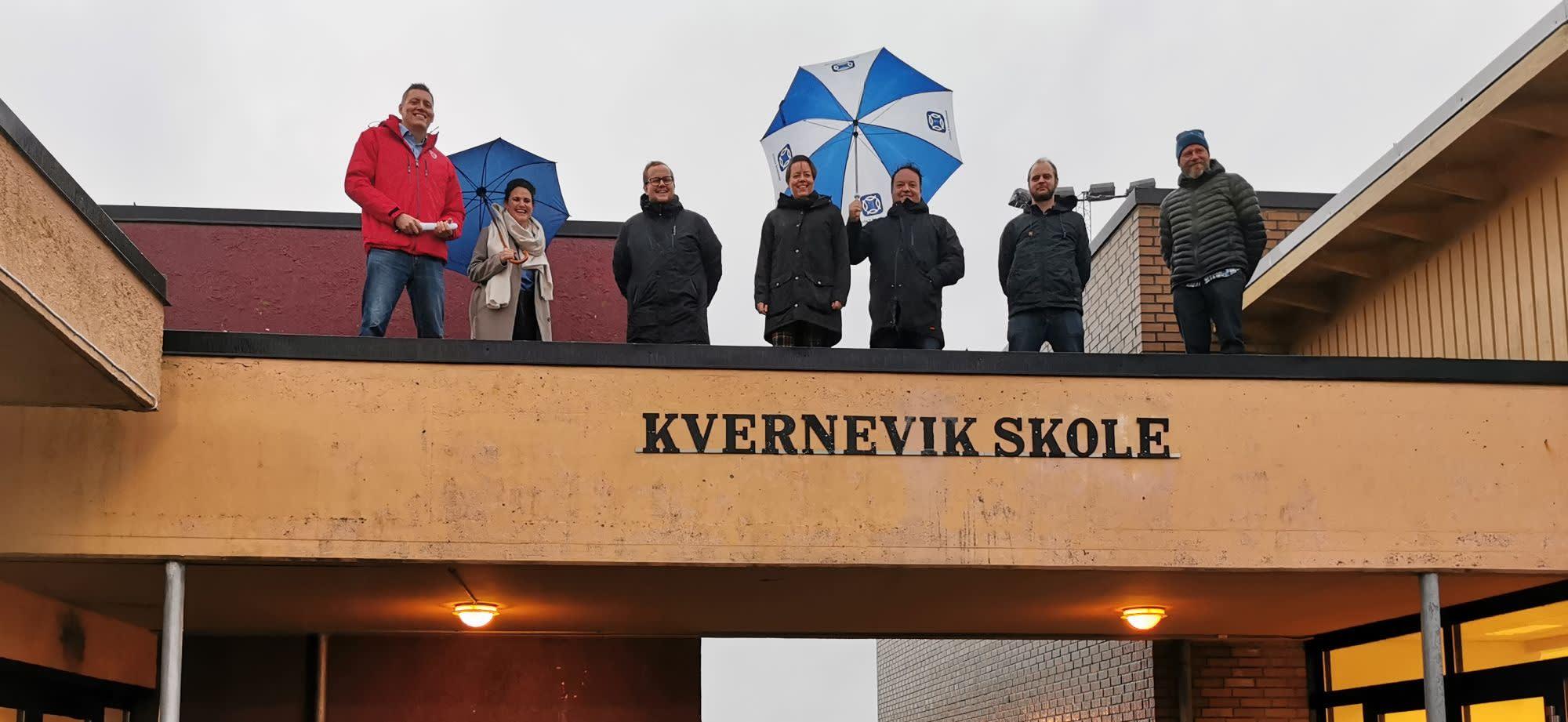 Et stort løft, ikke bare for Kvernevik skole, men hele aktivitetsområdet i Kvernevik er blant våre største prioriteringer.
