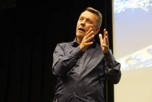 Ordførerkandidat Gunnar Wilhelmsen på valgkamp-kick-off 9.5.19