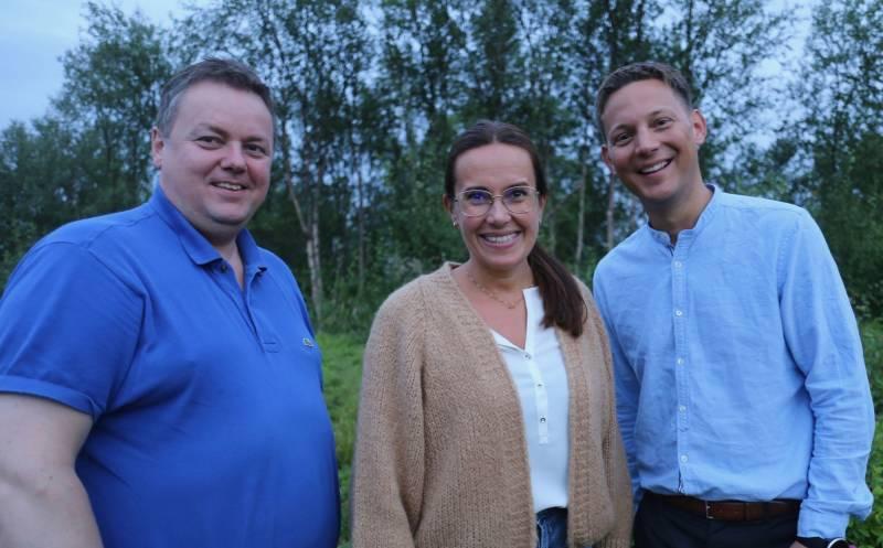 Bilde av Runar Sjåstad, Marianne Sivertsen Næss og Sigurd Rafaelsen