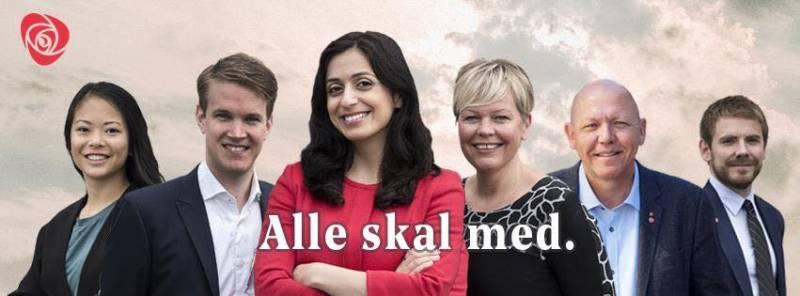 Bilde av representanter i Rogaland Ap