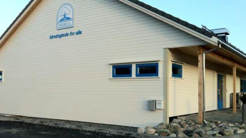 Idrettshuset på Kolnes i Karmøy kommune.