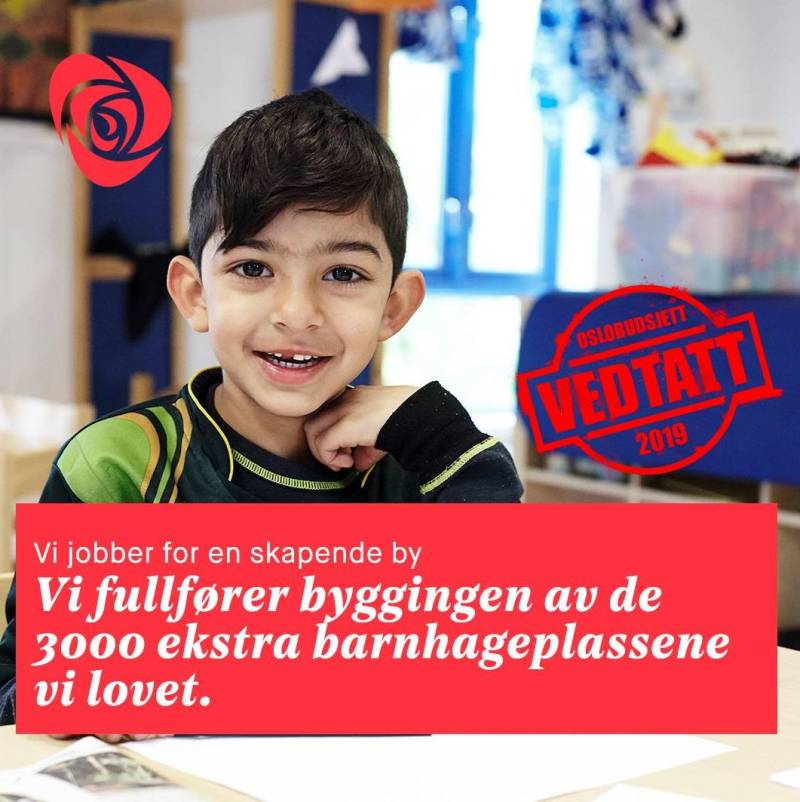 Barnehageplasser Oslo