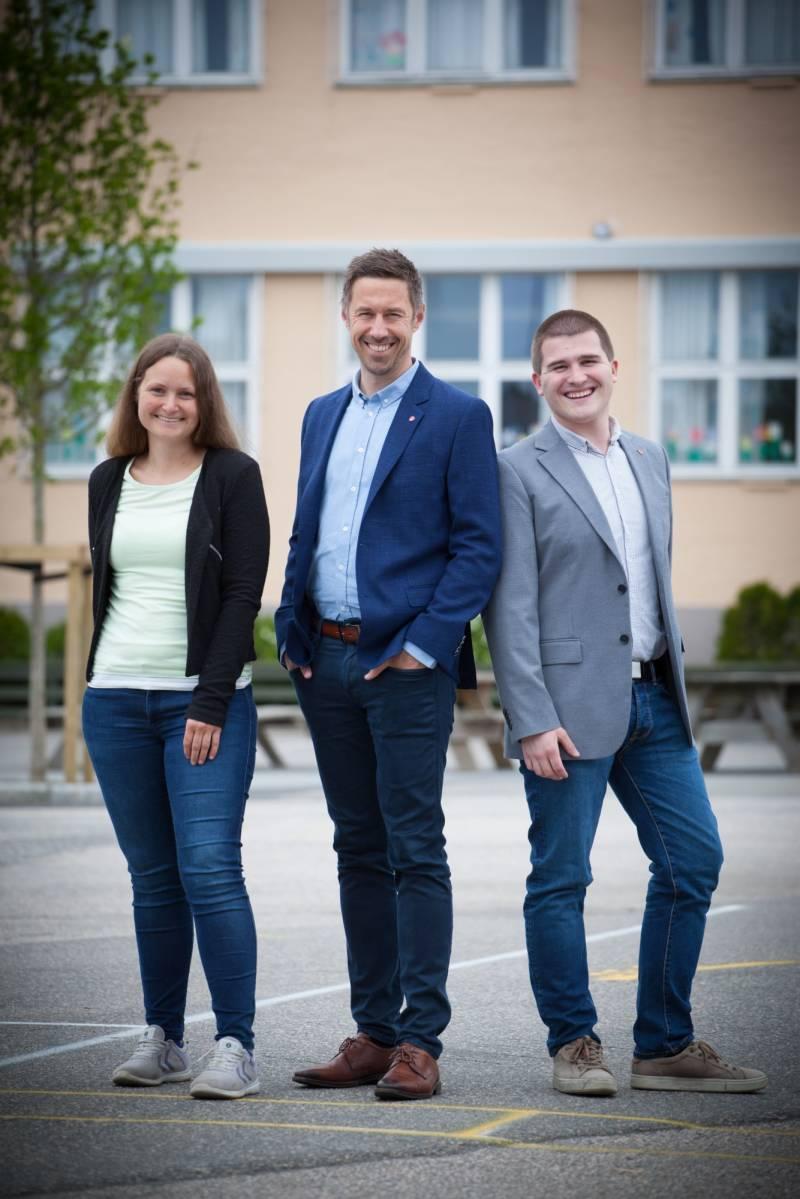 Topp tre i Lindesnes Arbeiderparti.
