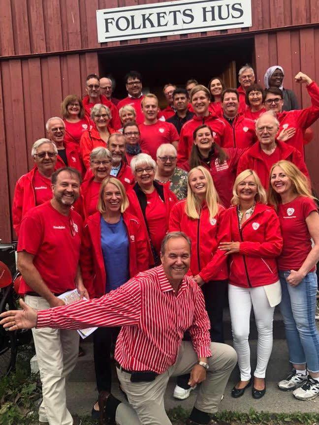 Bærum Arbeiderparti og Anniken Huitfeldt til kick-off før valgkamp 2019