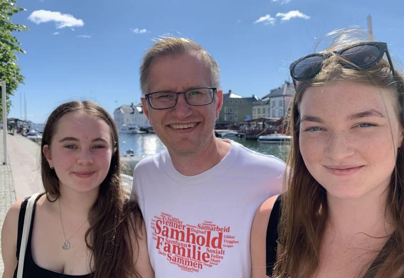 Emla Høiskar Folgen, Robert Cornels Nordli og Marielle Gjerrestad i Pollen.