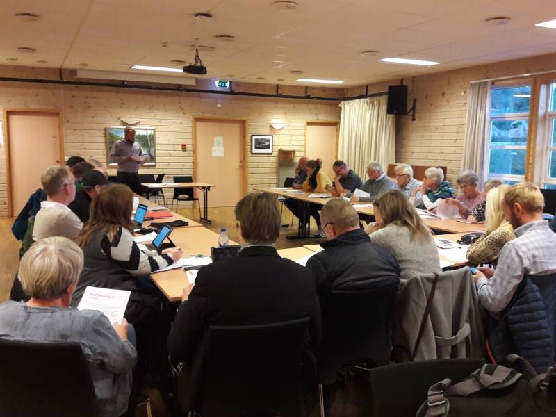 Medlemsmøte på Langhuset 2018-09-24