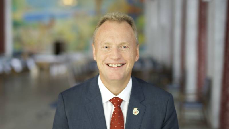 Byrådsleder Raymond Johansen