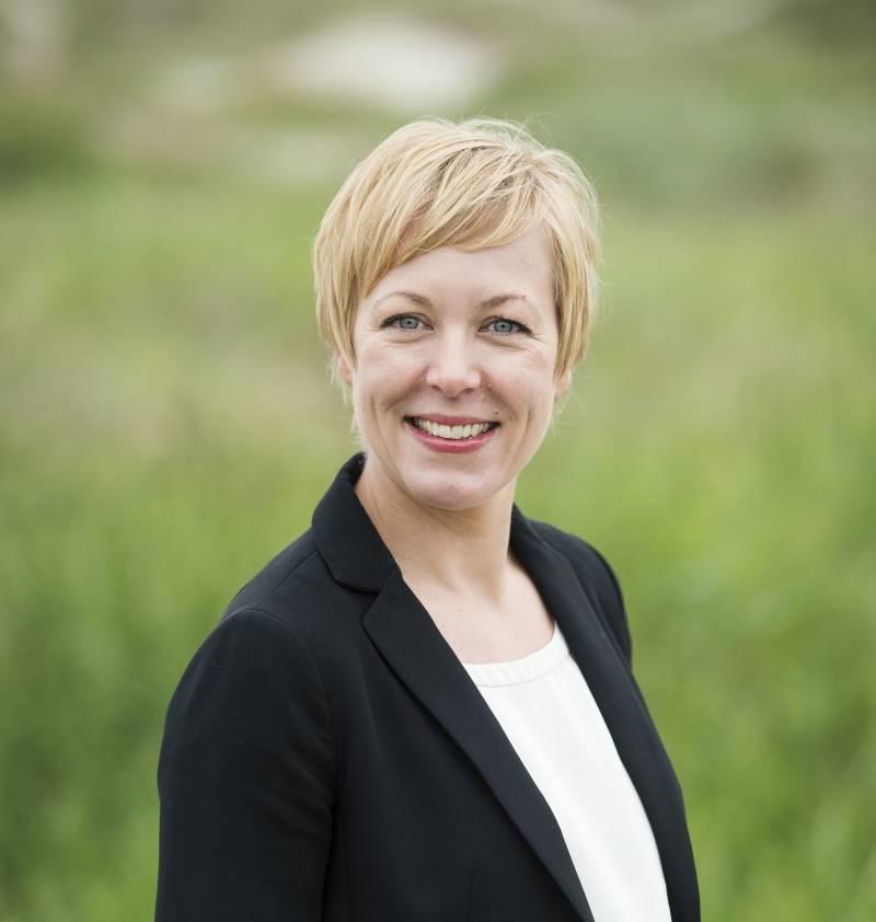 Portrettbilde av fylkesordfører i Rogaland, Marianne Chesak.