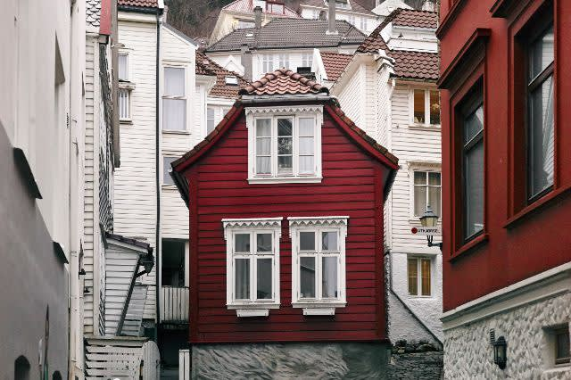 Rødt hus i byen - Arbeiderpartiet