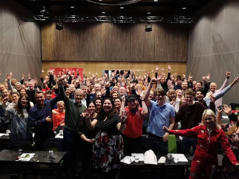 Full jubel på Tromsø Aps valgkamp-kick-off 9.5.19