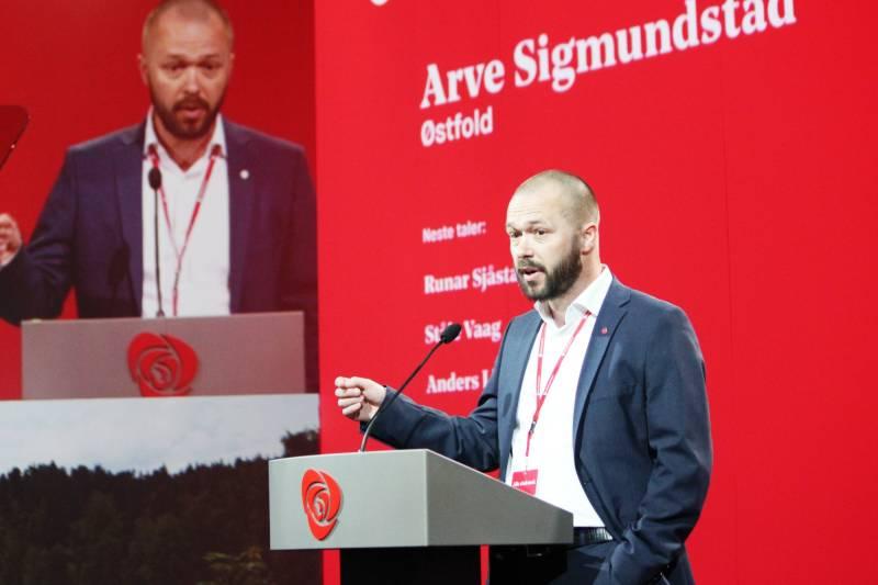 Bilde av Arve Sigmundstad
