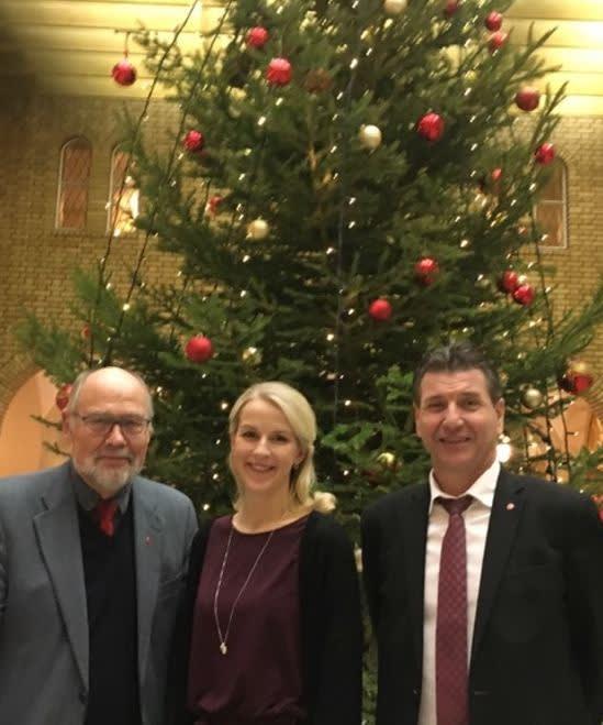 Julen, Stein, Svein R. og Elise