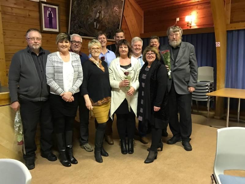 Nytt styre valgt på årsmøte 27.2.2017
