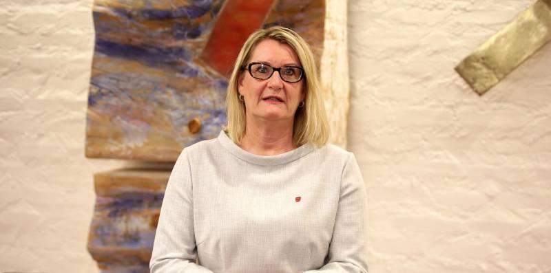 Fylkesordfører Gro Bråten