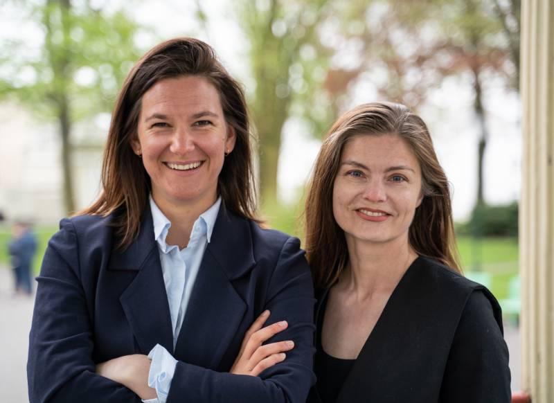 Johanne Halvorsen Øveraas og Ingeborg Skjølingstad