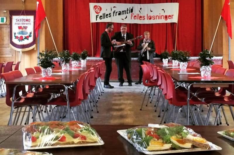1. mai frokost i 2017 - Gamle Folkets Hus Lillestrøm