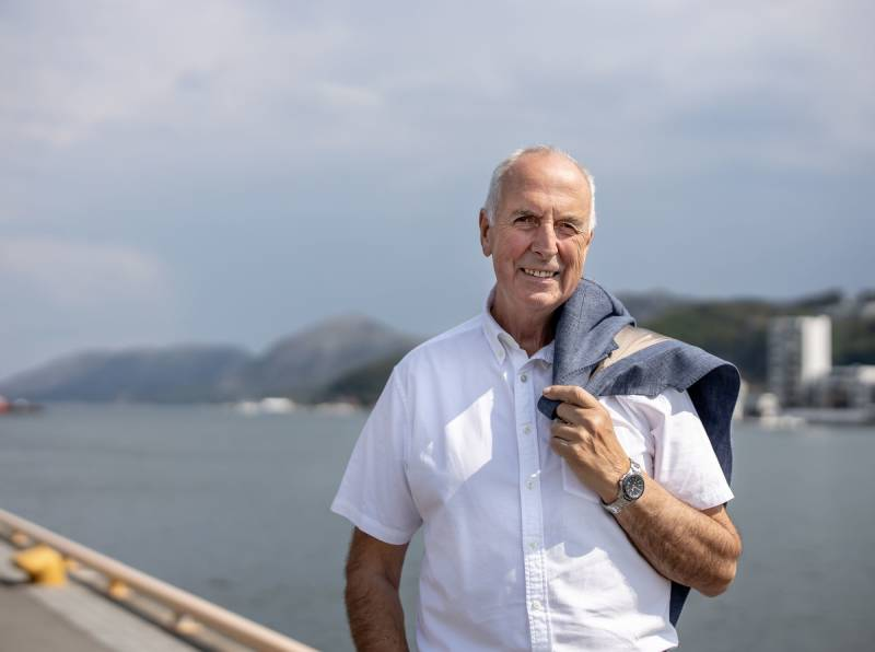 Stanley Wirak foran Gandsfjorden