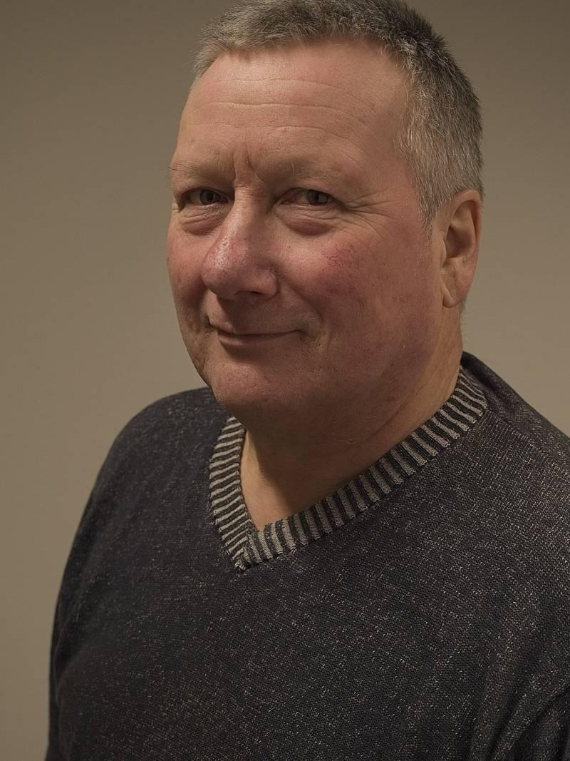 Geir Elvebakk Moski er tredjekandidat for Evenes AP. Foto: Helge Opdal