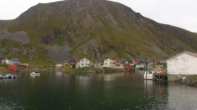 fiskeværet Sørvær på Sørøya