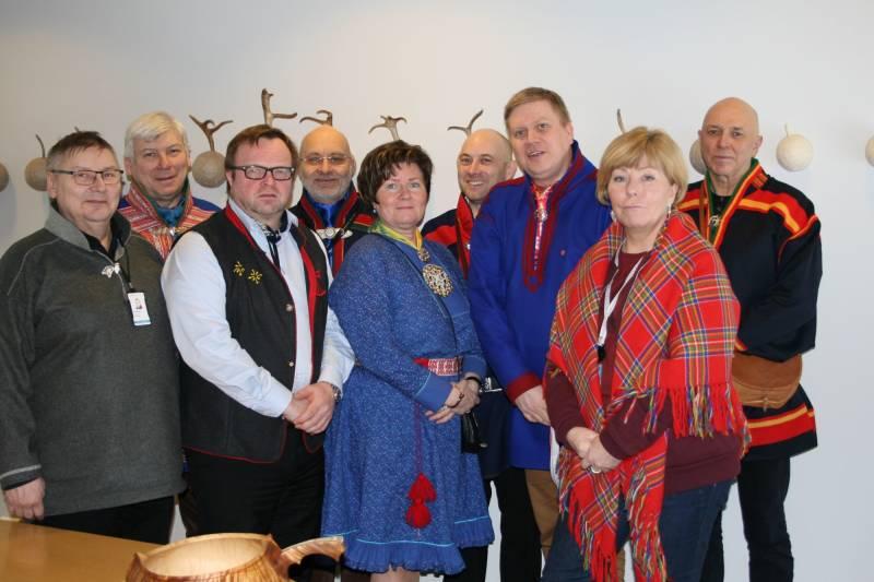 sametingsgruppa mars 2018
