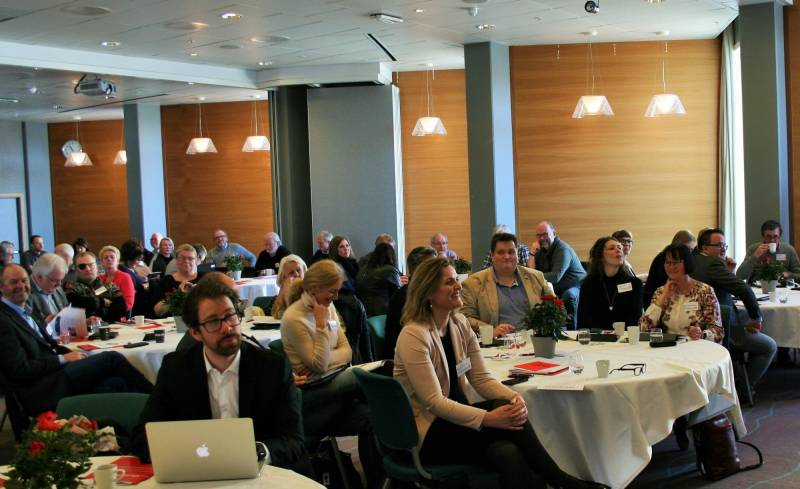 Bilde fra årsmøtet i Aust-Agder Arbeiderparti