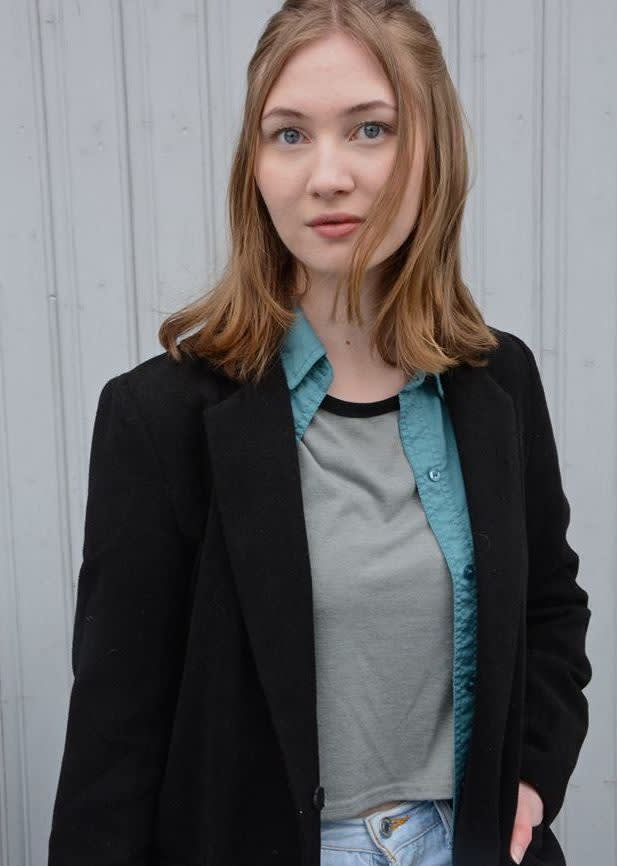 Emma Krane Mathisen, nestleder i Drammen AUF er fra Tofte