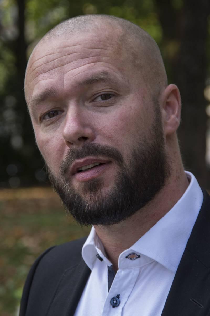 Stortingskandidat Arve Sigmundstad