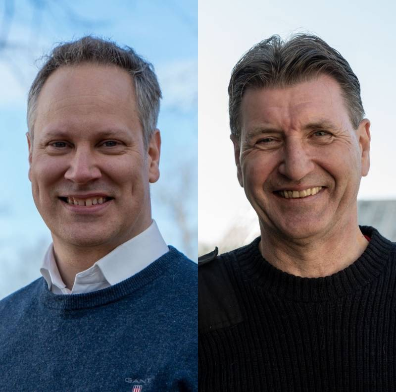 Jon-Ivar Nygård og Stein Erik Lauvås