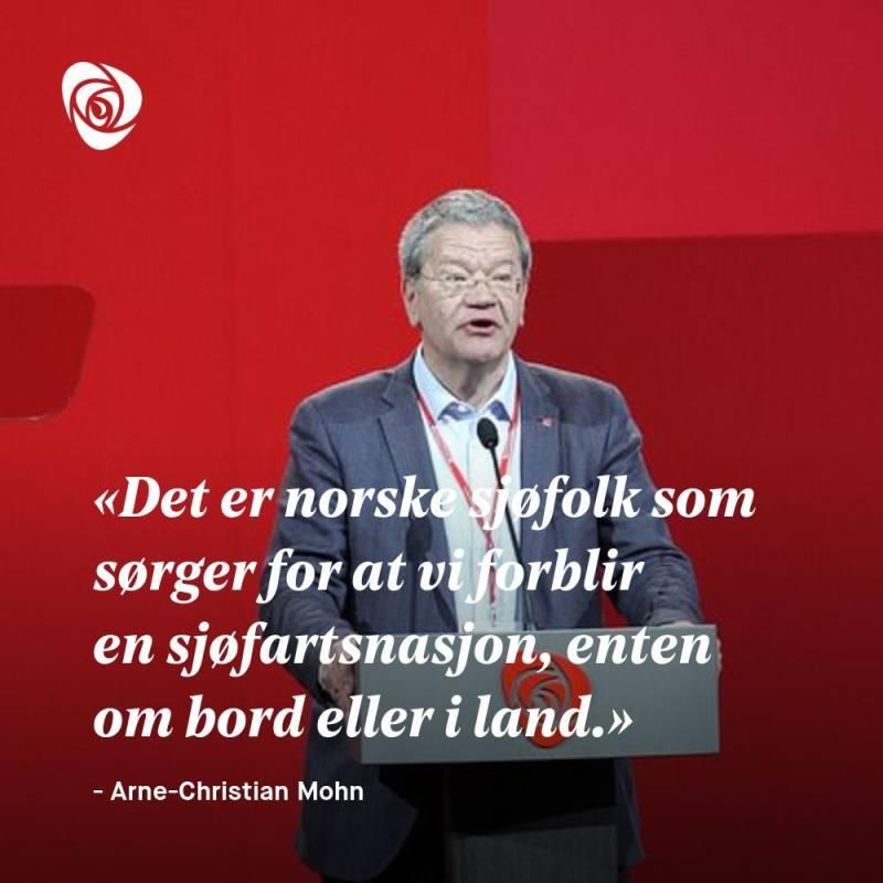 Sitatplakat Arne-Christian Mohn