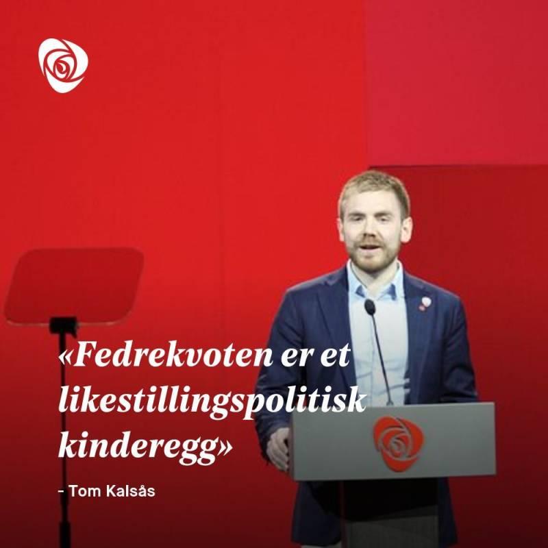 Sitatplakat Tom Kalsås