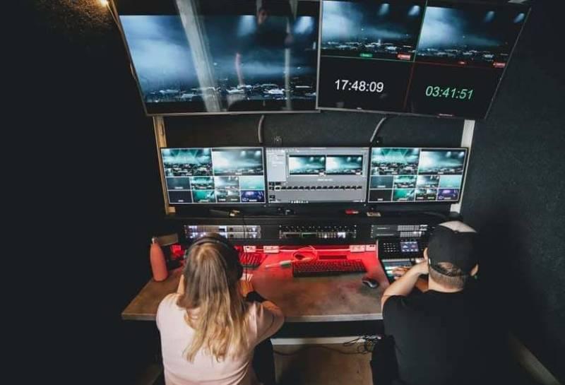 Videoproduksjon hos VALY. FOTO DÁNIL RØKKE