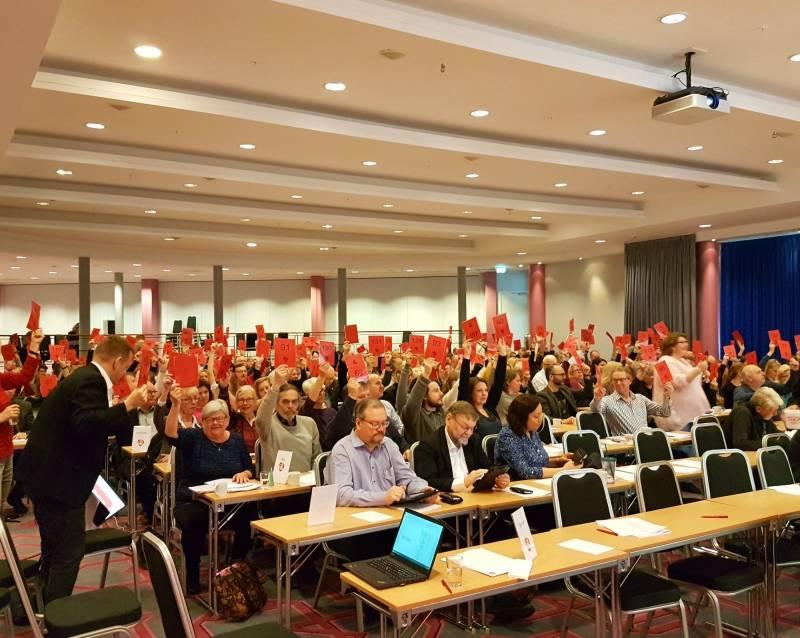 Votering årsmøte i Akershus Ap 2017
