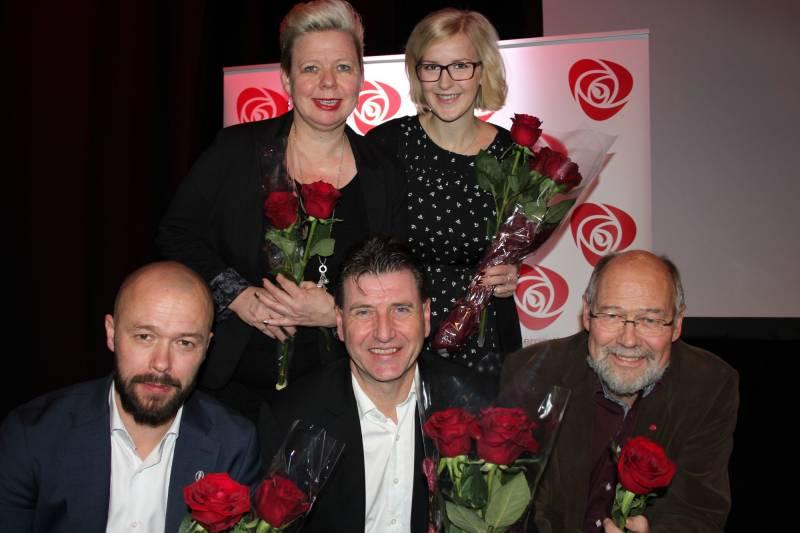 Arbeiderpartiets fremste kandidater fra Østfold til stortingsvalget.
