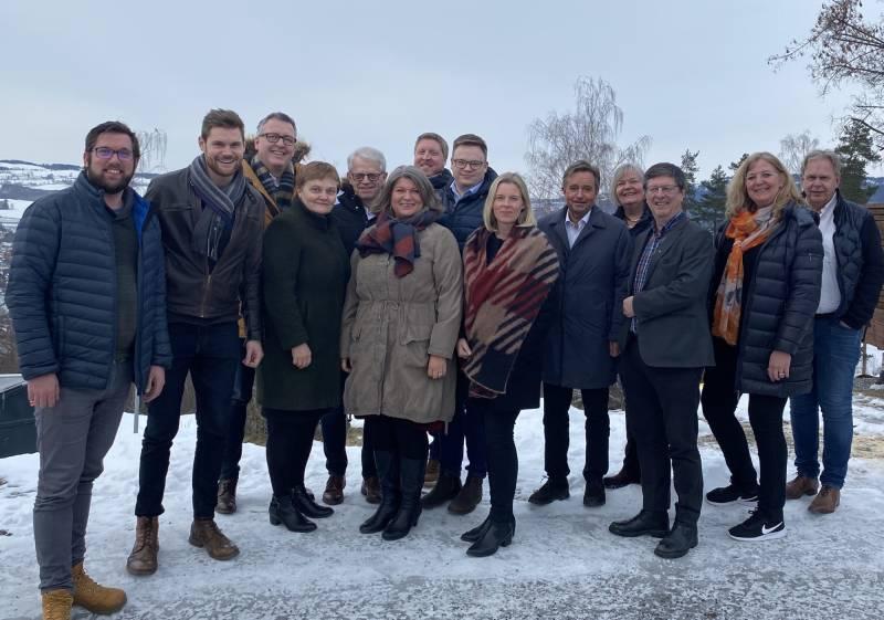 Ledelsen i Innlandet Ap, stortingsrepresentanter og Ap ledere fra både Hamar, Elverum, Ringsaker, Gjøvik og Hamar deltok på perspektivkonferansen