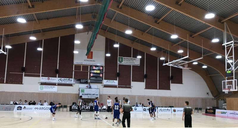 Basketball i Kongsberghallen