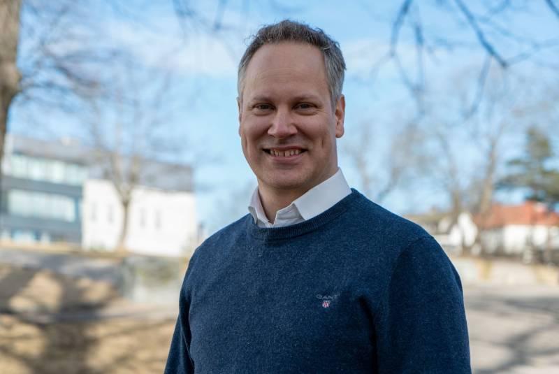 Jon-Ivar Nygård i Fredrikstad.