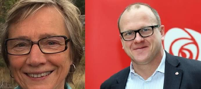 Ann Marit Sæbønes og Frode Jacobsen