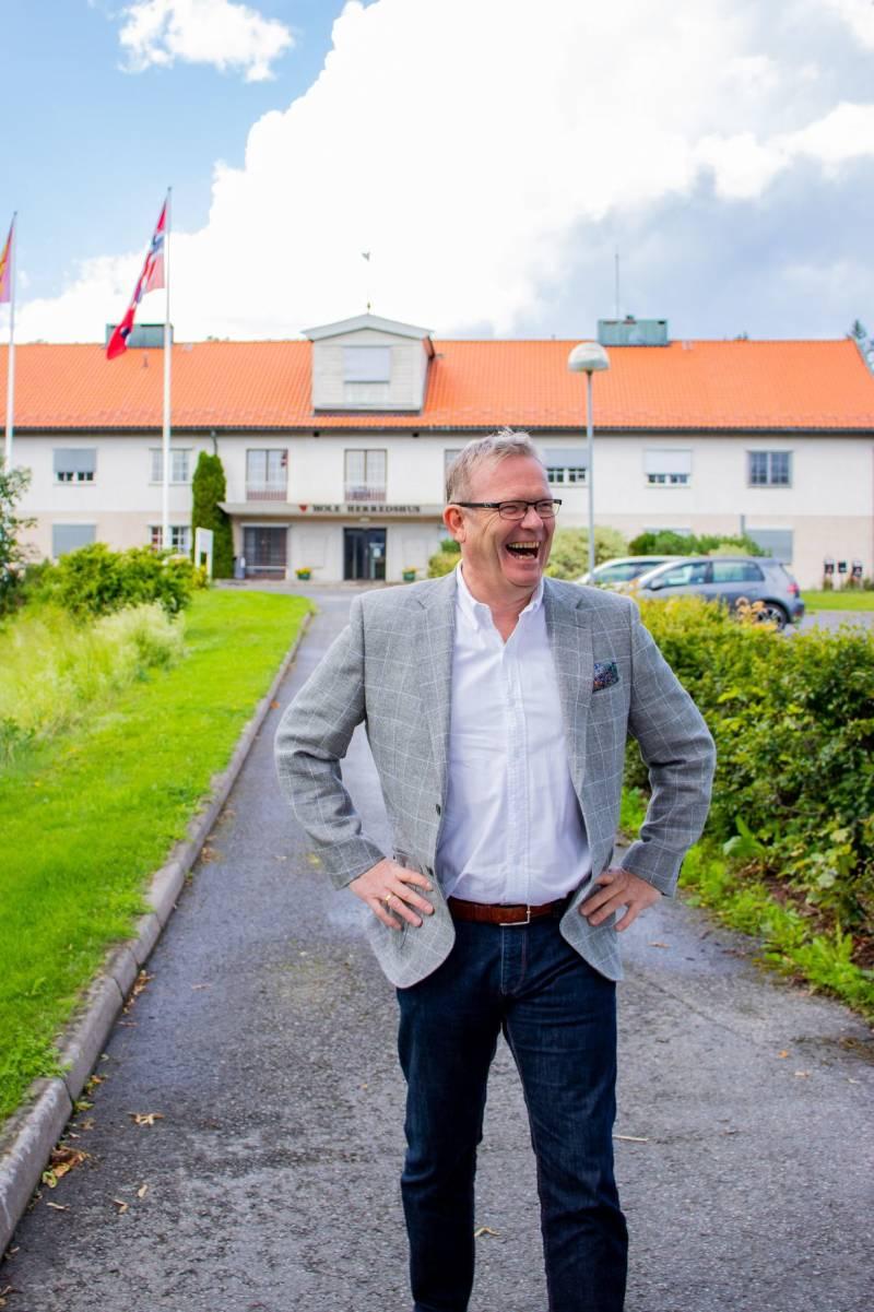 Ordførerkandidat Tom Olsen