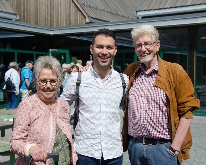 Aps veterangruppe startet valgkampen på Utøya