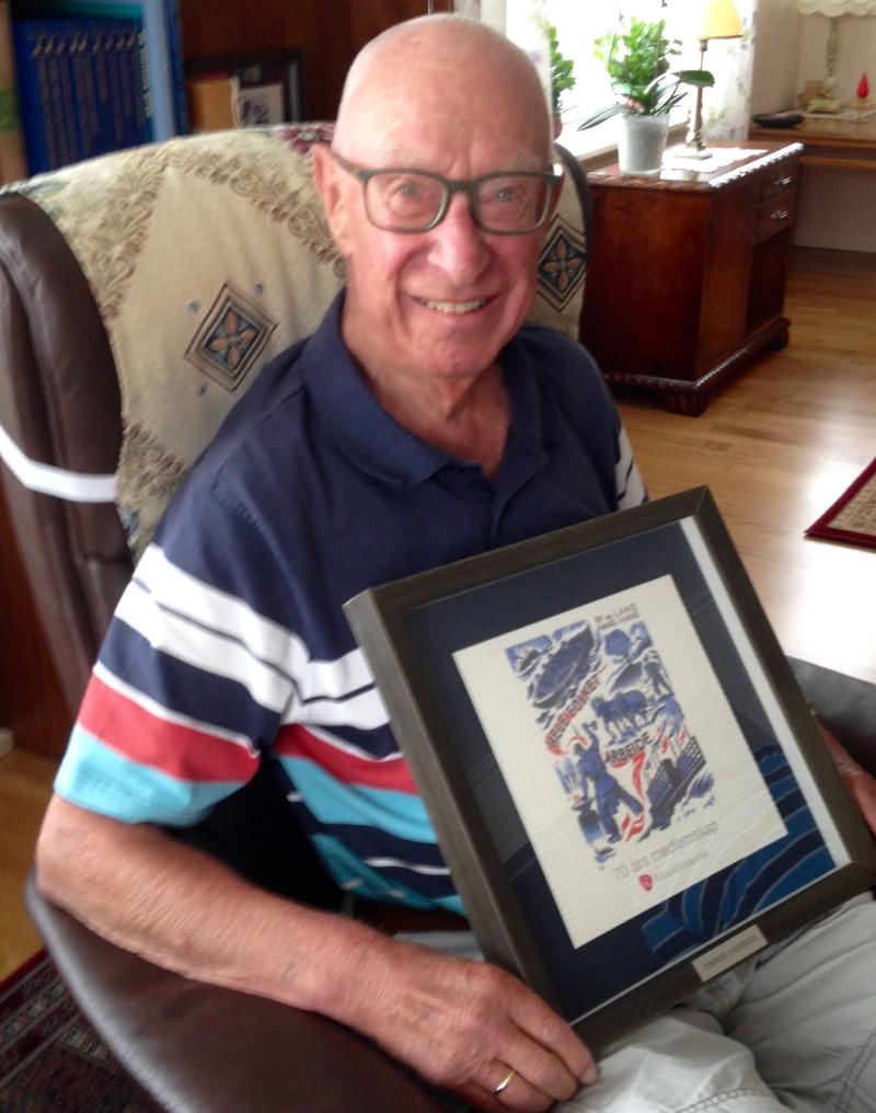 Tormod Andersen passerte 70 års medlemsskap i Ap i år