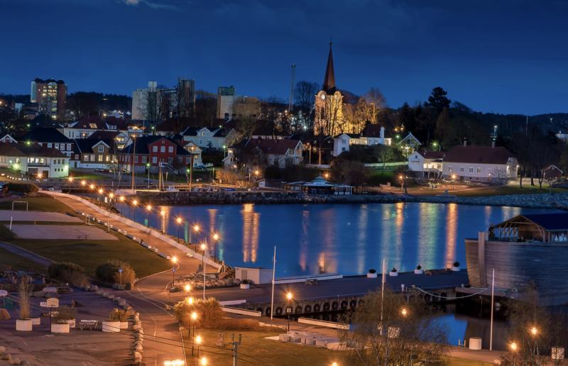 Indre Havn Foto: John Nilsen