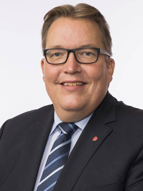 Sverre Myrli, stortingsrepresentant for AP