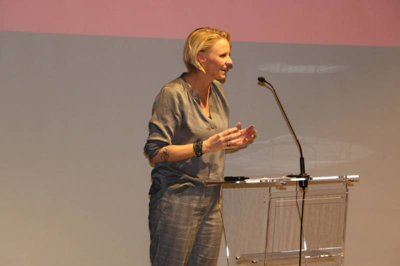 Stortingsrepresentant og medlem av Aps justisfraksjon Maria Aasen-Svensrud innledet