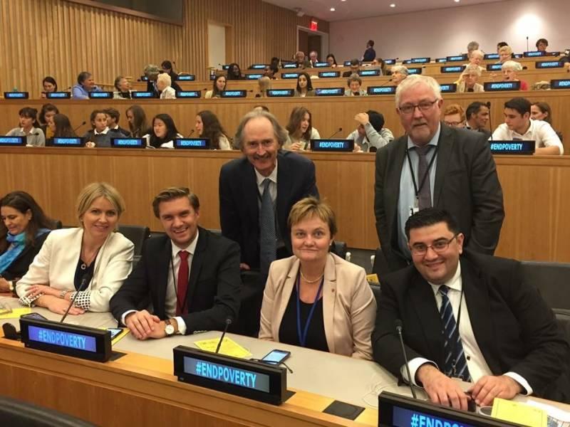 Christian Tynning Bjørnø i FN