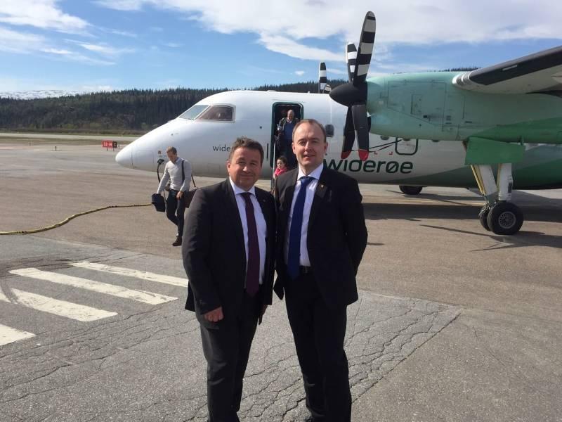 Kjell og Eirik
