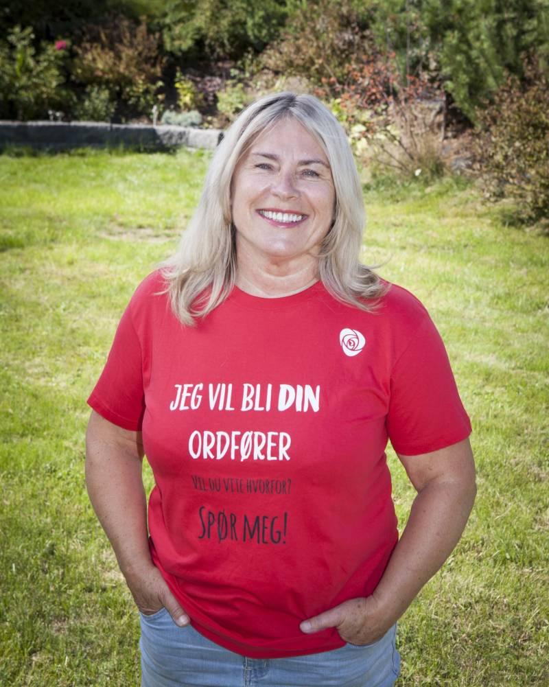Ordførerkandidat Kirsten Orebråten